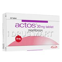 アクトス(糖尿病治療薬) 15mg/30mg の画像