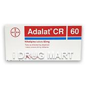 アダラートCR 30mg、60mg商品画像