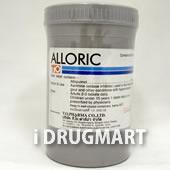 アロリック(アロプリノール錠)100mg の画像