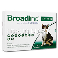 ブロードライン・スポットオン猫用(2.5〜7.5kg) の画像