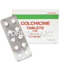 コルヒチン錠(痛風治療薬)0.6mg の画像