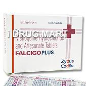 ファルシゴプラス(マラリア治療、予防薬) の画像