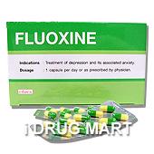 フルオキシン20mg(プロザックのジェネリック薬) の画像