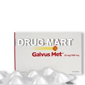ガルバス・メット50mg(2型糖尿病薬)商品画像