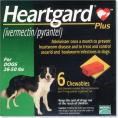 ハートガードプラス中型犬用 11kg〜22kg未満 の画像