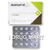 モティリウム-M(ナウゼリン錠と同成分) の画像