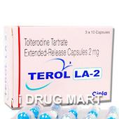 テロルLA 2mg(デトルシトールのジェネリック薬) の画像