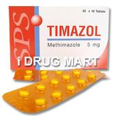 チマゾール(抗甲状腺ホルモン) の画像