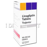 トラジェンタ5mg(糖尿病の薬) の画像