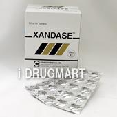 XANDASE(アロプリノール錠)100mg の画像
