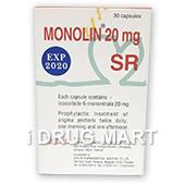 モノリン20mg(狭心症治療薬)商品画像