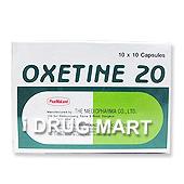 オキセチン(プロザックのジェネリック)商品画像