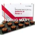 ミルナイト30mg(抗精神病薬)