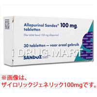 ザイロリック錠(痛風治療薬)100mg商品画像