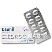 ダオニール(糖尿病治療薬)5mgの画像