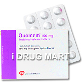 Quomem(タバコ禁煙治療・補助薬)の画像